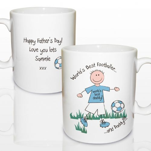 Personalised World's Best Footballer Mug